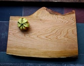 Charcuterie Board- X-Large Rustic Serving & Cutting Board - Footed Black Cherry - Unique Wedding Gift 196 - rusticcraftdesign