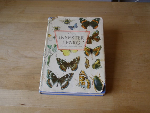 Insekter i Färg (Insects in Color), a small book of colored plates  ABL-191