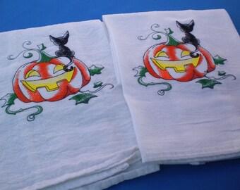 Halloween towels Set 3