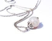 Necklace Jade - Gypsy Silver