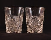 Pair of 2 Rocks Glasses