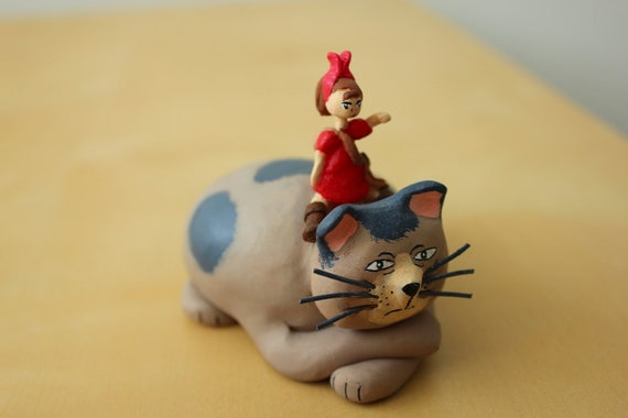 Arrietty and the House Cat