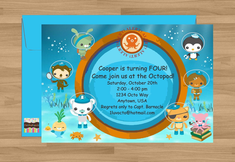 Octonauts Birthday Invites as nice invitations ideas