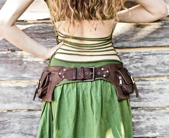 Items Similar To 2 Pocket Women S Men S Leather Belt Bag
