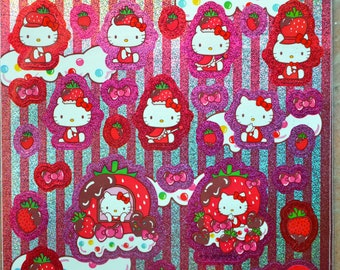 Japanese Shinning Stickers- Hello Kitty