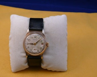 """USSR (Soviet Union)  EARLY """"WOSTOK""""  special limited edition  wrist watch 1940-50  Ultra Ultra Rare Very Good"""
