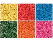 Wilton Brand Jimmies 6 Mix Sprinkles Assortment