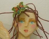 Beautiful Butterfly  Hair Band, Handmade by Marina
