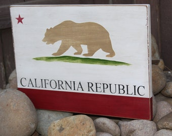 California Republic Sign