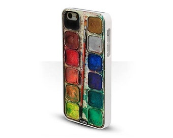 WATERCOLOR Set IPHONE 5c CASE paint iPhone 6S case palette iPhone 6 Plus cover Artistic iPhone 5S cases iPhone 4s cases