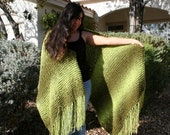 Vintage Fading Green Forest Fairy Wrap