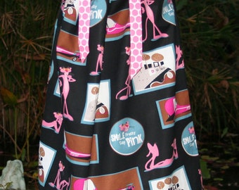 Boutique pillowcase dress featuring The Pink Panther :CH049
