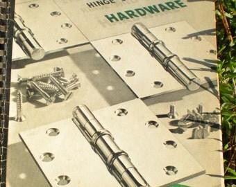 McKinney  Hardware Catalog  no 92 Hinge Shelf Garage and Price Book 1956 REDUCED