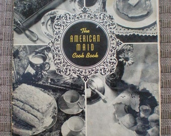 1950s Vintage American Maid Flour  Houston Milling Company  Southern Recipes Cookbook Pamphlet