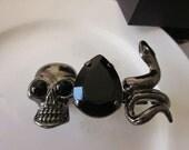 Alexander McQueen Inspired Ring