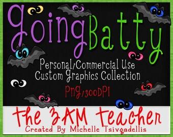 Going Batty Custom Graphics Collection