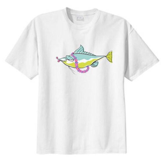 Tropical Lei Fish New T Shirt S M L XL 2X 3X 4X 5X, Beachy Summer