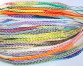 Friendship Bracelet, 25 Crochet Bracelets - Wholesale Bracelets - Custom Color, Awareness/Fundraiser Jewelry, Party Favors, Gifts