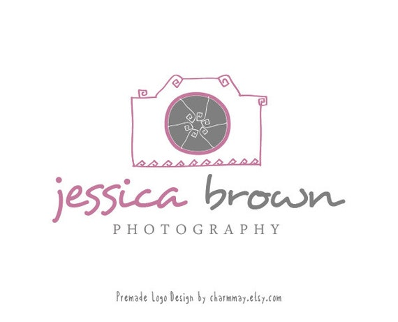 Premade  Photography Logo and Watermark  - Customized Premade Logo Design  -  Custom Business Logo Design - Photography Props