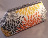 Floral Bursts Clutch