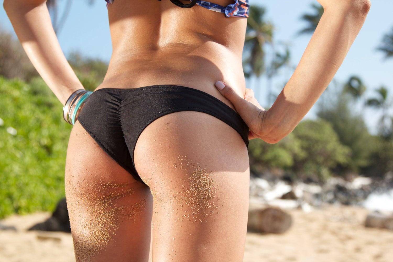 butt bottoms Scrunch bikini