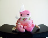 Handmade Knit Foot Monster