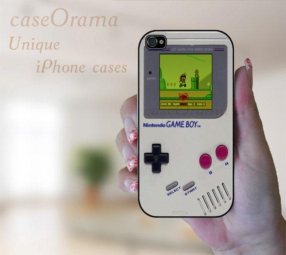 Nintendo iPhone 5 rubber case - Game Boy Super Mario iPhone 5 case, iPhone 5 cover, iPhone hard rubber case
