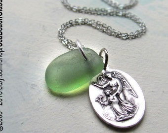 St Expedite Necklace. Saint Expedite Necklace. STERLING Silver Chain. St Expedit. Saint Medal. Catholic Necklace.