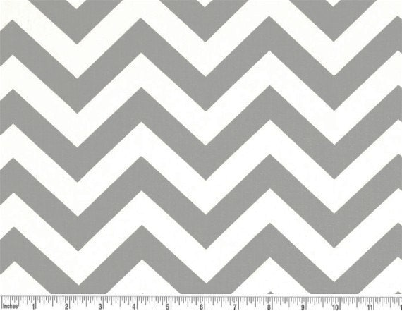 Curtains Ideas chevron curtains grey : Grey and White Chevron Curtain Valance 50x14 inches