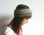 Crochet Headband, Womens Headband Crochet, Knit Headband, Crochet Flower Headband, Crochet Ear Warmer, Knitted Headbands Women