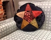 Fire Pentagram Pillow