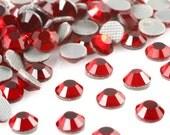 1440pc Red (Dark Siam) Hotfix Rhinestone Iron On Wholesale Package 3mm 4mm 5mm  (HOTFIX)