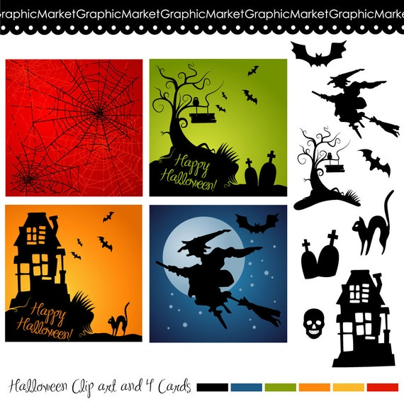 halloween clipart invitations - photo #11