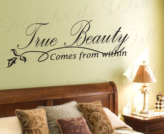 True Beauty Comes From Within Inspirational Motivational Kid