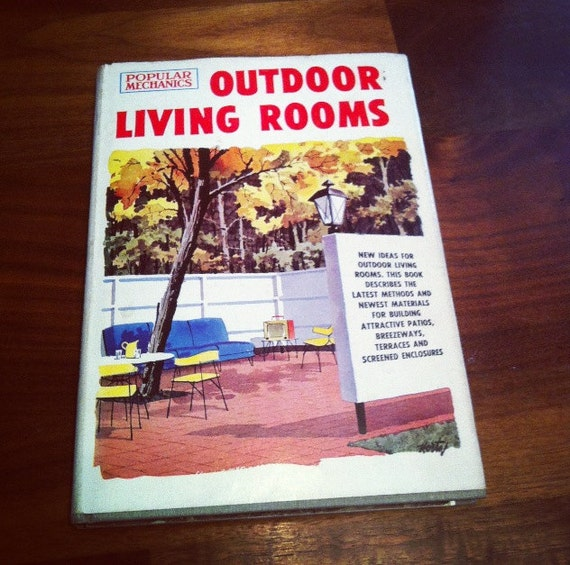 MidCentury Landscape Design Book outdoor living space