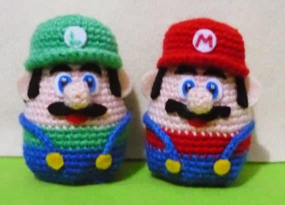 Amigurumi Mario Y Luigi : Crochet Super mario and Luigi Warmer Amigurumi by ...