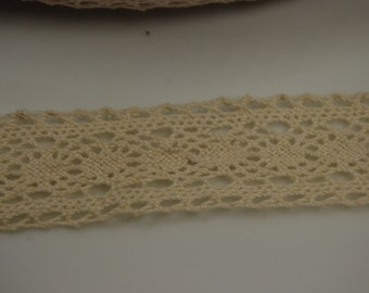 Lace Ribbon 5 Yd each package