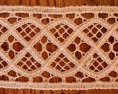 Antique Victorian Edwardian Embroidery Tape Lace Trim Needlework Sewing Home Steampunk Bohemian