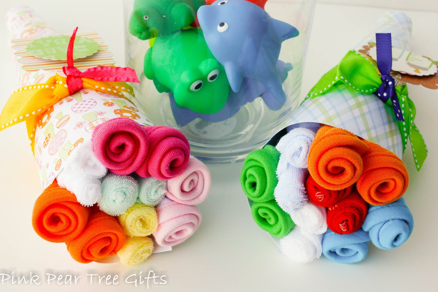 Baby Gift Bouquet New Zealand : New baby bouquet shower gift the lindsay