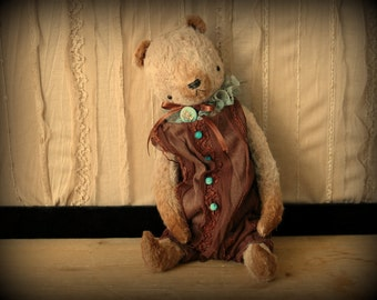 PDF E-PATTERN for 9 inch Artist Mohair Handmade Teddy Bear plus the suit pattern by Sasha Pokrass