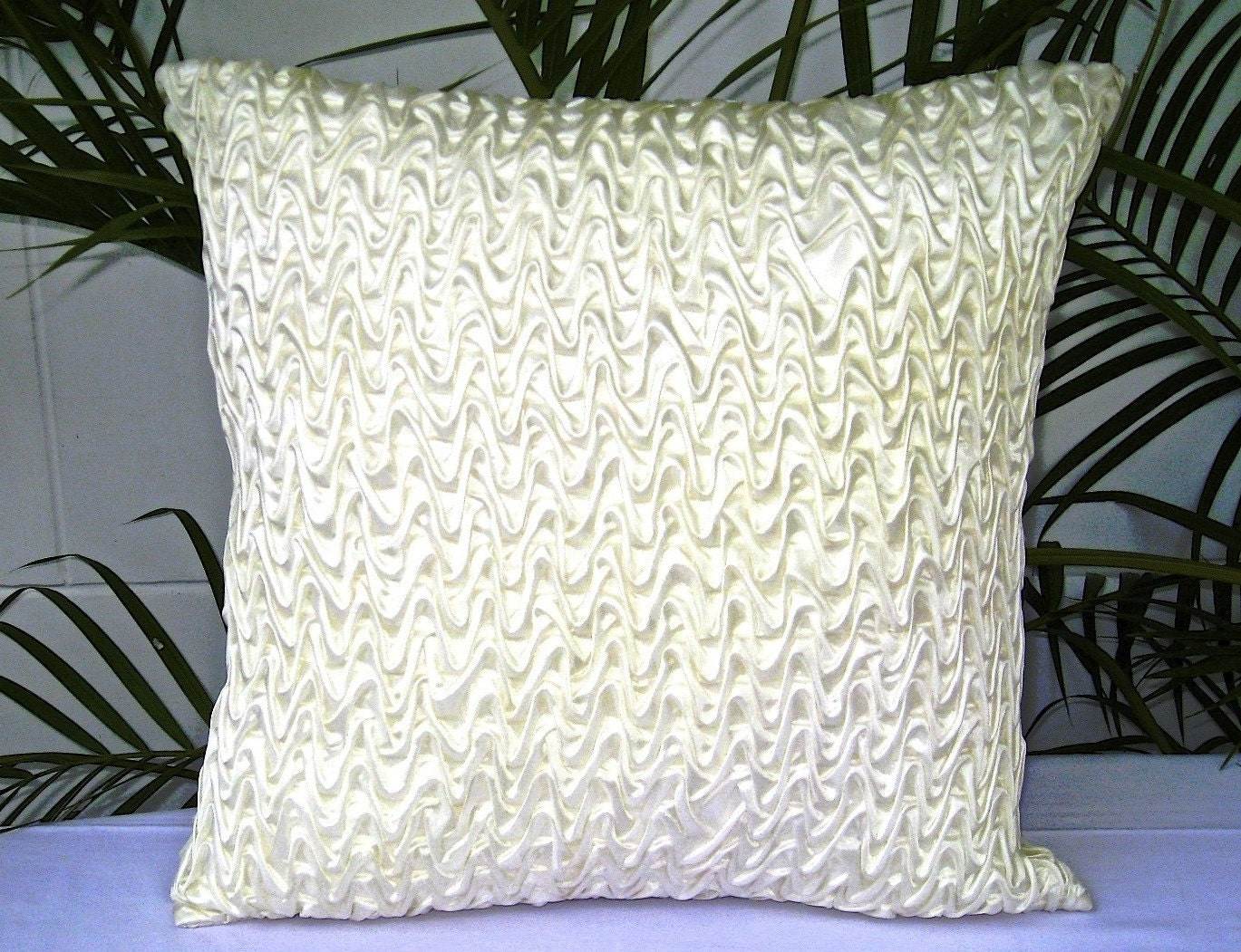 18x18 pillows Ivory Throw Pillow White Throw Pillow