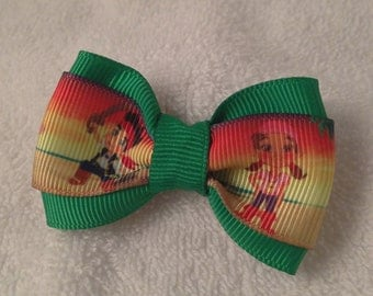 Jake and the Neverland Pirates Hair Bow - 2 inches