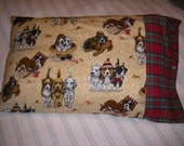 Handmade Pillow Case for Child/Adult  Dogs  Puppy  Dogs, Dalmations, Westies, Cocker Spaniel, Beagle etc .