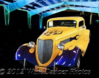 1934 Ford Rod - Classic Hot Rod - Classic Car Photo - Gifts for Guys - Americana - Hot Rod - Retro -Gifts for Men