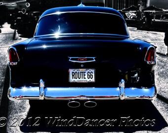 Custom '55 Chevy - Classic Car Photo - Classic Car Art - Retro - Americana - Gift Idea for Men - Gift Idea for Guys