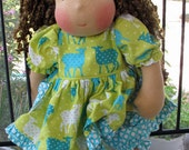 "Custom Order Waldorf style doll 17"" Tara"