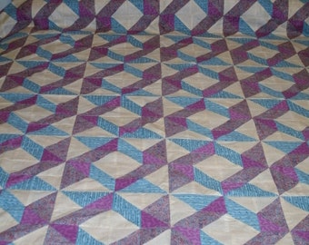 Windblown Square Queen Quilt