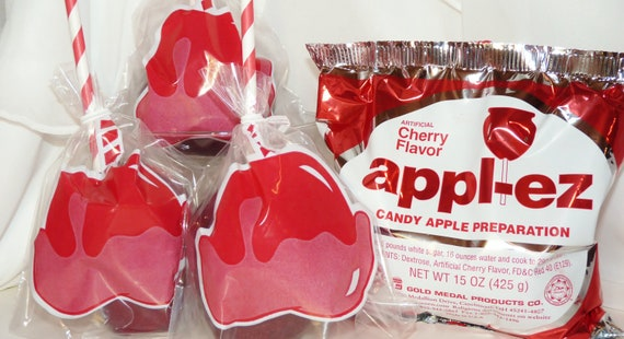 how to make candy apple mix
