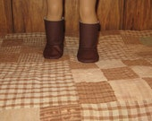 Take your pick Brown Boots or Navy Boots for your 18 inch American Girl Doll