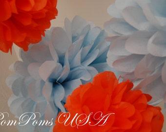 20 Tissue Paper PomPoms